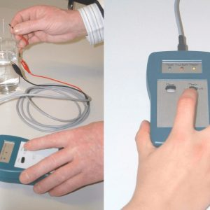 Microelectrode tip cleaning device (MTC)